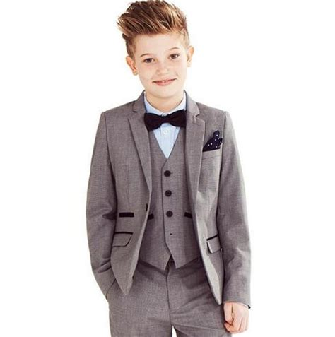 Set Mj Boy Blezer 3in1 fashion children suits for customized boy suits