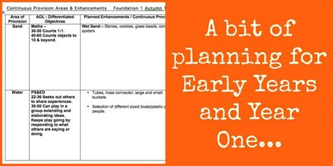 new year planning for early years planning for continuous provision reception and year one