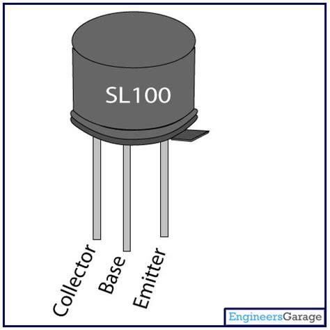 npn transistor which pin is which sl100 transistor pinout sl100 datasheet engineersgarage