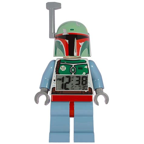 Wars L With Alarm Clock by Wars Boba Fett Quot Lego Quot 22 Cm Alarm Clock Clic Time