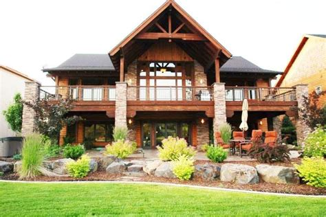 House Plans With Walkout Basement And Pool by Exceptional House Plans With Walkout Basement And Pool