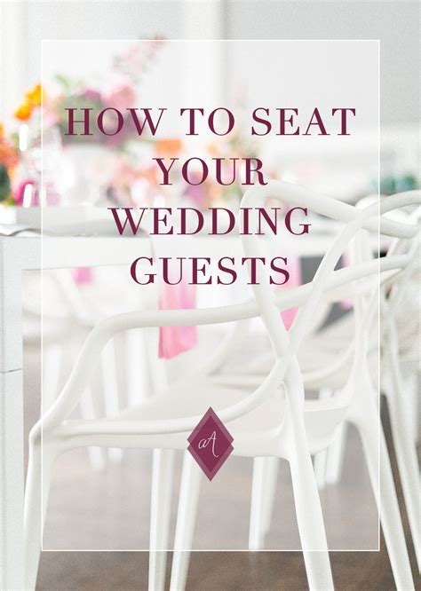 The Great Guest Wedding Seating Debate who to sit where?
