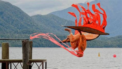 te anau boat club fishing competition cardboard boat race and birdman competitions bring laughs