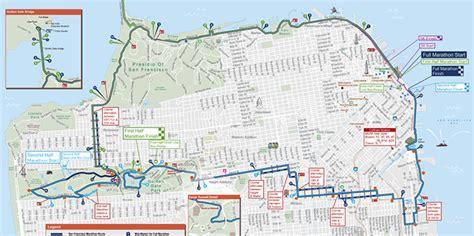 san francisco marathon map the san francisco marathon course info and maps