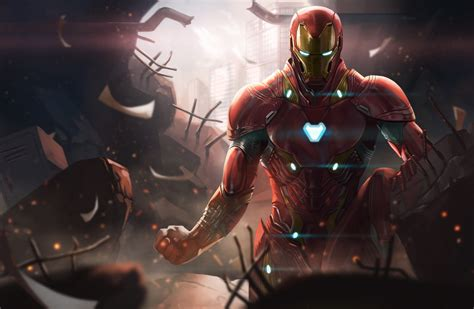 iron man avengers infinity war digital art hd superheroes