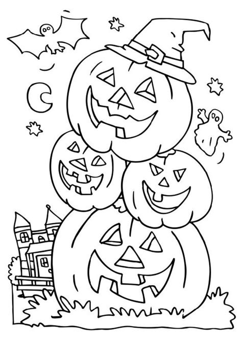 halloween coloring pictures coloring town