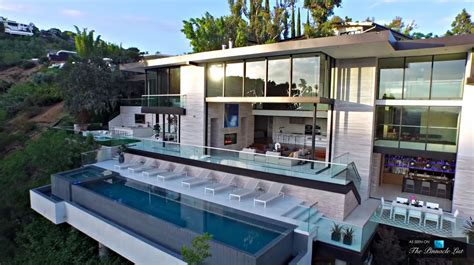 Interior Glass Walls For Homes by Modern California Houses Interior Design