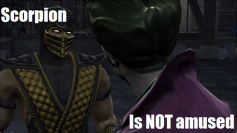 Scorpion Meme - scorpion is not amused custom meme by mkbrony on deviantart