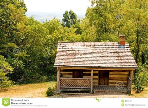 Mountainside House Plans by Old Pioneer Log Cabin Royalty Free Stock Photos Image