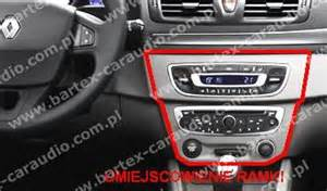 Renault Fluence Obd Location Ramki Radiowe G蛯o蝗nikowe Renault Renault Megane 3 2008