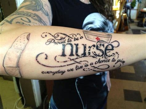 nurses with tattoos 107 best images about ideas on