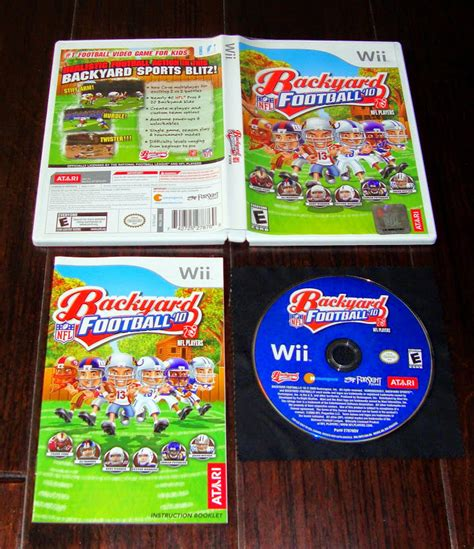 wii backyard football complete nfl backyard football 10 wii compatible