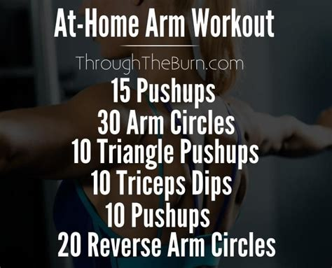 1000 ideas about home arm workouts on