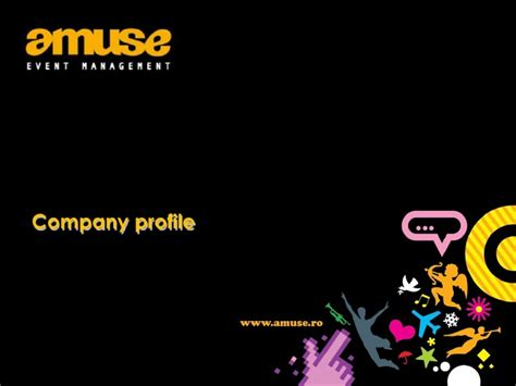 Amuse event management company profile