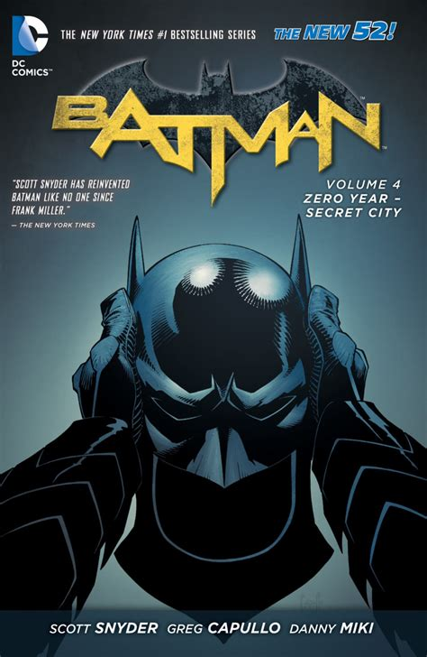 batman vol 4 zero year secret city hc preview