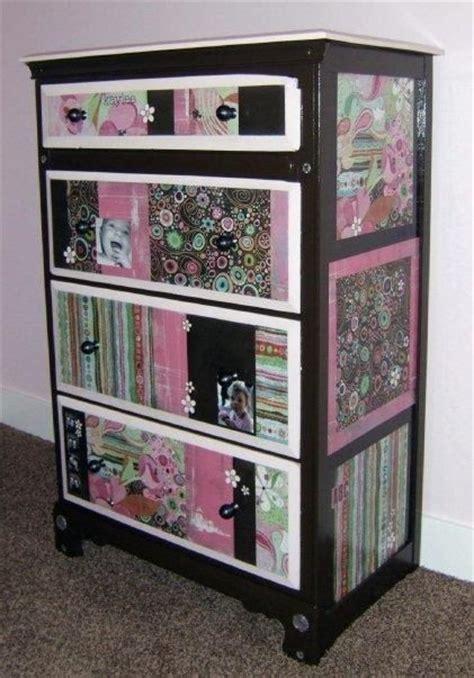 Mod Podge Dresser Ideas by 17 Best Images About Mod Podge Furniture On