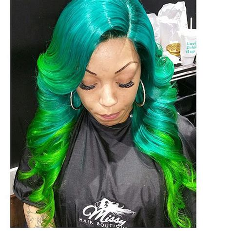 colored sew in lace frontal bundles sew in colored and install by chlo