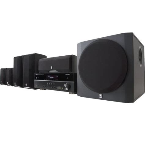 home theater systems yamaha yht 695bl complete 5 1