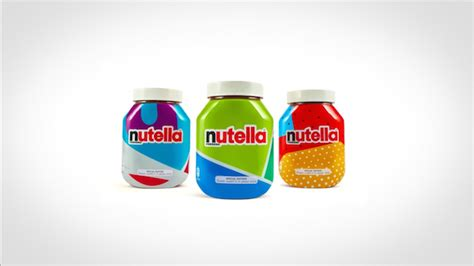design nutella label nutella rolls out 7 million jars wrapped in gorgeous one