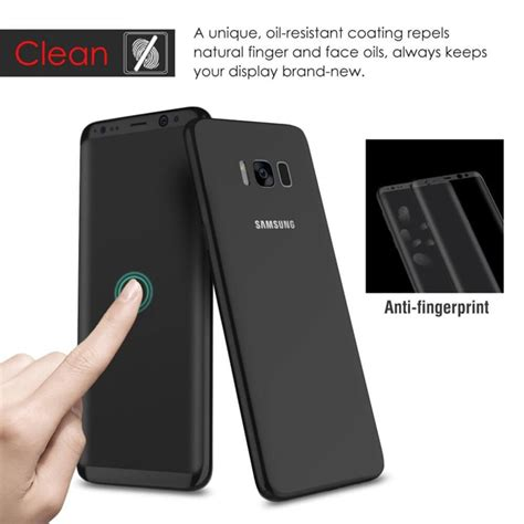 Tempered G Ultra Screen Samsung Galaxy S8 Edge clear curved 3d tempered glass screen protector for