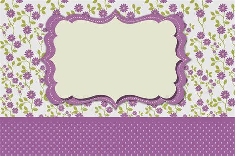 printable purple flowers purple flowers free printables invitations oh my