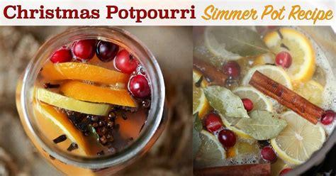 christmas in the air potpourri potpourri simmer pot air freshener