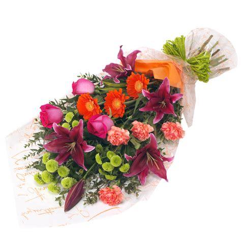 vibrant bouquet  vase flowers  teleflorist buy flowers