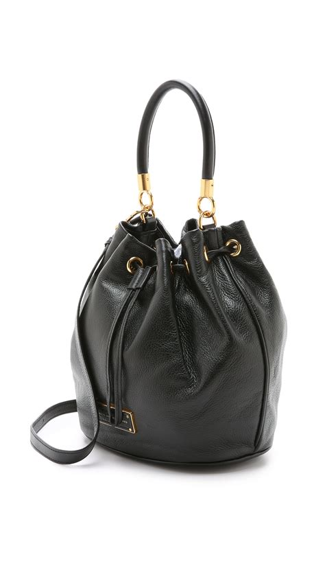 Marc Jacob Bag 32 marc by marc to handle bag black in black lyst