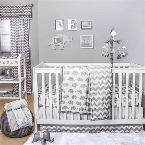 elephant nursery decor popsugar