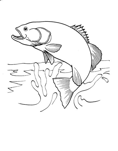 coloring pages fish printable fish coloring pages free printable fish