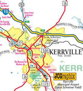 kerrville map jcgraphix of kerrville digital mapping graphic design