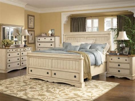 country king size bedroom sets country style bedroom furniture image white cottage