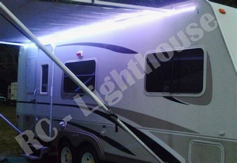 rv awning led light strip a1 rv led awning light set w ir remote control 24 key rgb 16 4 5050 waterproof