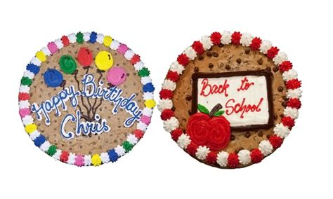 nestle toll house cookie cake 15 quot cookie cake nestle toll house cafe chula vista groupon