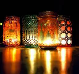 Diy Lantern Lights Boho Hanging Lantern Brilliant Light Aqua Jar Candle