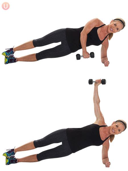 the 15 minute one dumbbell plank you very much 10 minute workout get healthy u