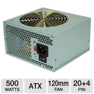 Dijamin Baleno Power Supply 500 Watt coolmax v 500 500 watt atx 120mm fan sata ready