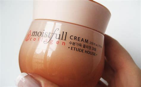 Korean Collagen review on korean etude house moistfull collagen