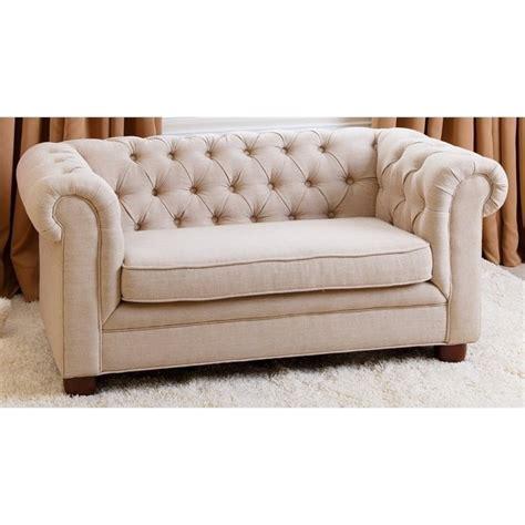 Abbyson Living Rj Kids Mini Fabric Chesterfield Sofa In Fabric Chesterfield Sofas