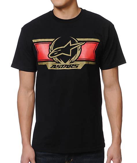Alpinestars Tshirt Must Buy Murah alpinestars banner black t shirt zumiez