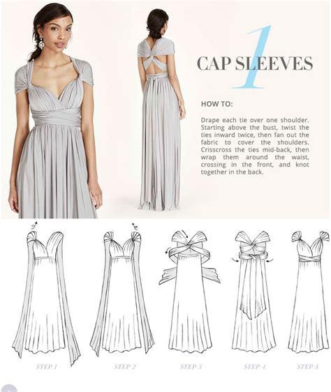 25  best ideas about Infinity Dress Tutorial on Pinterest   Infinity dress styles, Convertible