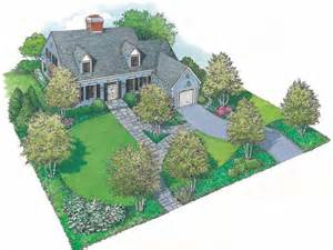house plans with landscaping landscape plan with 0 square feet from dream home source
