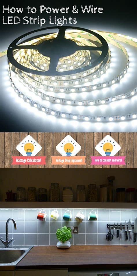 how to wire led strip lights 12v led flex strips are super easy to use follow this