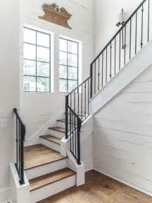 L Shaped Stairs Design Country L Shaped Staircase Design Ideas Renovations Photos