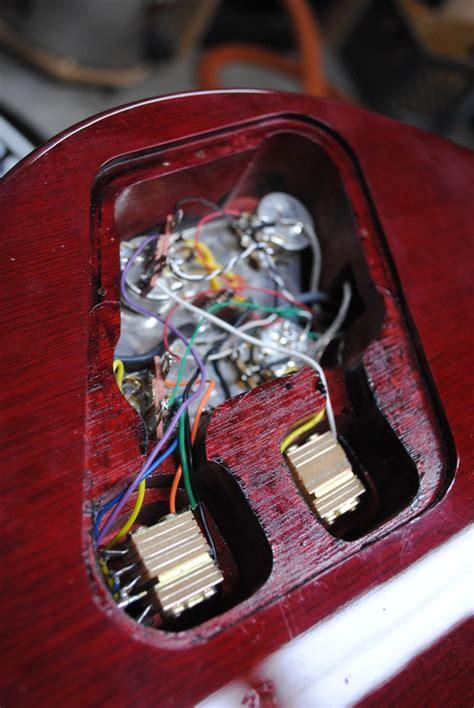 wiring diagram les paul recording les paul studio wiring