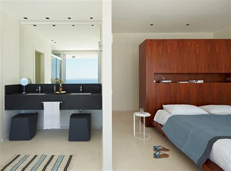 ensuite bedroom designs modern villa brings elegance to ibiza