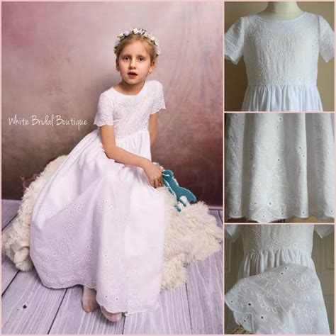 Dress Holy flower dress communion dress baptism dress holy