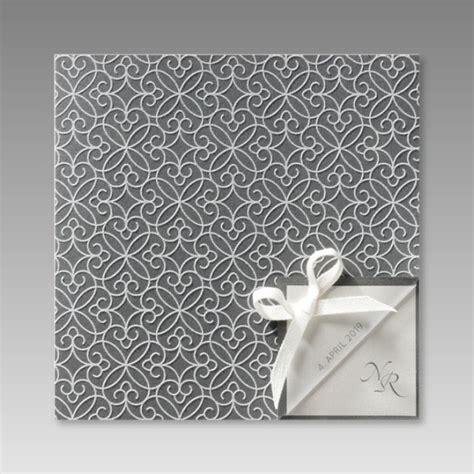 Einladung Silberhochzeit Modern by Moderne Einladung Zur Silberhochzeit Mit F 252 Hlbaren
