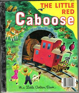19 Little Golden Book 210 56 The Little Red Caboose By