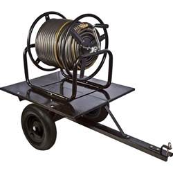 ironton trailered garden hose reel holds 5 8in x 400ft